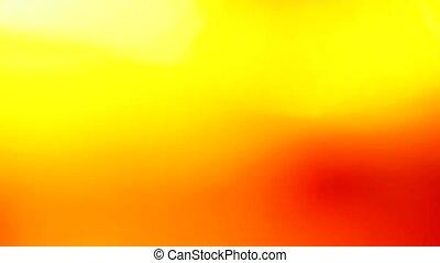 Vivid orange light leak, abstract background for creative...