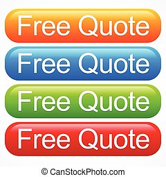 Vivid quote buttons