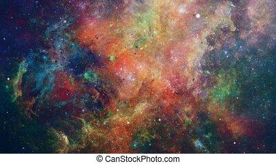 Vivid Universe. Stars and nebulae