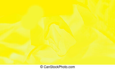 Vivid yellow 16:9 panoramic background, abstract blurred background