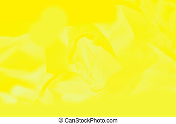 Vivid yellow background, sunny color abstract blurred background