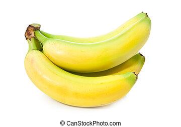 vivid yellow bananas