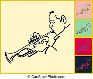 vivo, jazz, melancolía, y