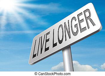 vivo, más tiempo