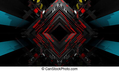 VJ Abstract Rhombus