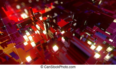 VJ Abstract Technology - VJ Full HD abstract technology...