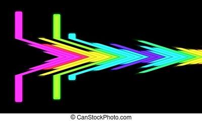 VJ DJ Equalise Levels Graphic Background