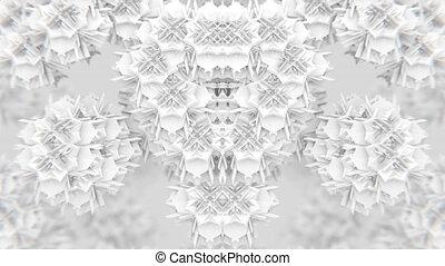 VJ Fractal 3D - VJ fractal kaleidoscopic background....