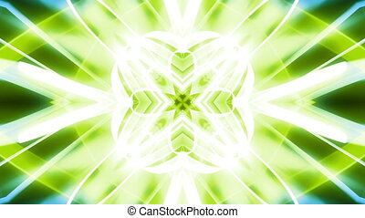 VJ Geometric Green Loop