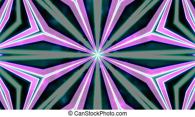 VJ retro lines abstract looping multicolored background color two