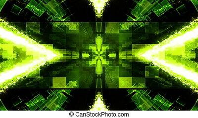 VJ science fiction loop N1D - VJ science fiction looping...