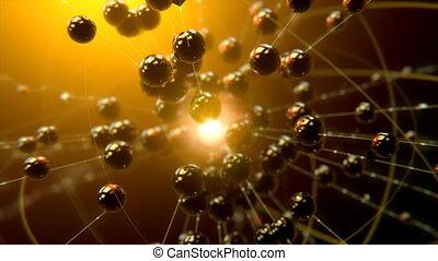 VJ Spheres in Motion - 4K VJ 3D 60 fps seamlessly looping...