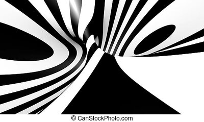 VJ striped background