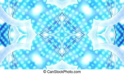 VJ Style Blue Cosmic Loop