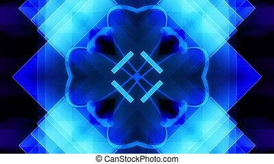 VJ style psychedelic geometric loop
