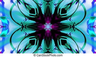 VJ style psychedelic loop X2N