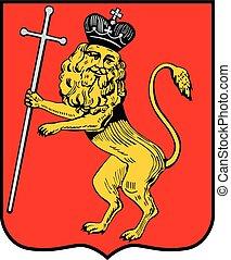 Vladimir city coa - Various vector flags, state symbols,...