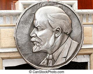 Vladimir Lenin stamping - Vladimir Lenin - Leader og october...