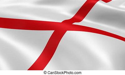 vlag, alabamian, wind