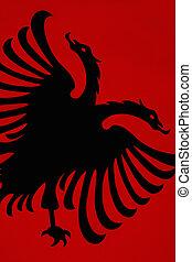 vlag, albanië