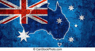 vlag, australië