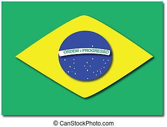 vlag, braziliaans