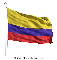 vlag, colombia