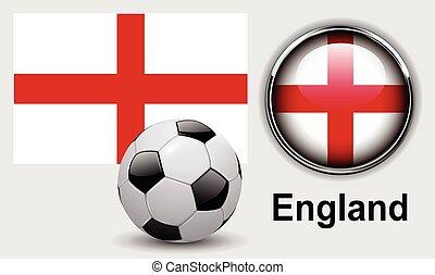 vlag, engeland, iconen