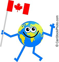 vlag, globe