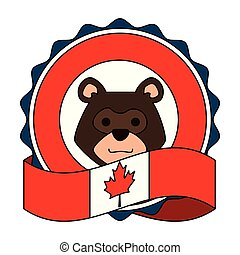 vlag, grizzly beer, canadees