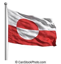 vlag, groenland