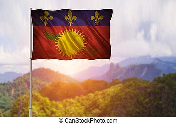 vlag, guadeloupe