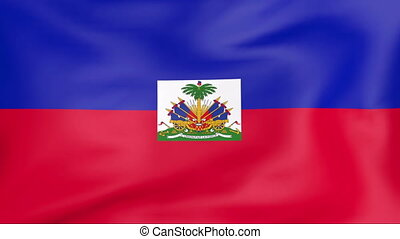 vlag, haïti