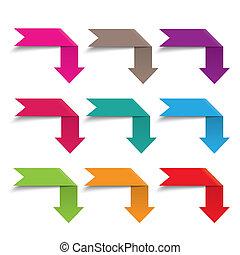 vlag, infographic, pijl, communie