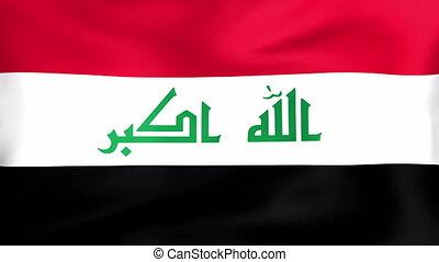 vlag, irak