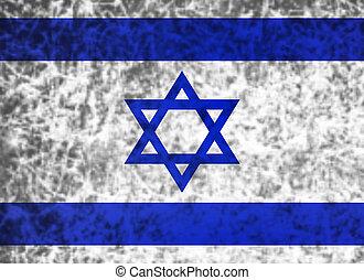 vlag, israel.