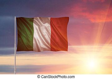 vlag, italië