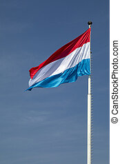 vlag, luxembourg