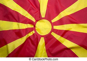 vlag, macedonië