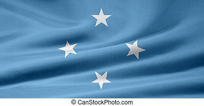 vlag, micronesië