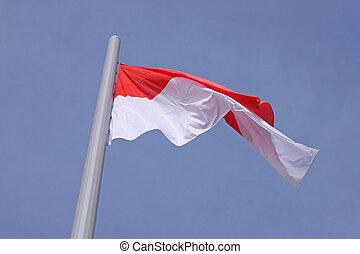 vlag, monaco