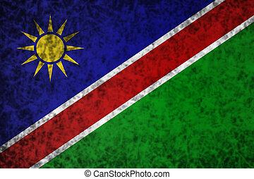 vlag, namibia.