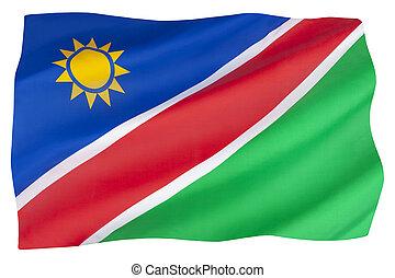 vlag, namibie, nationale