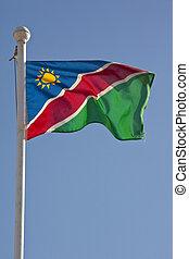 vlag, namibie