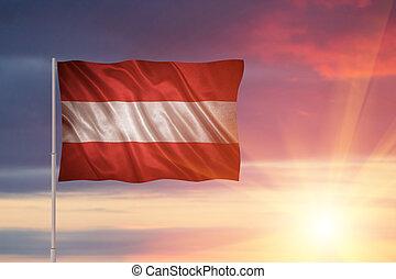 vlag, oostenrijk