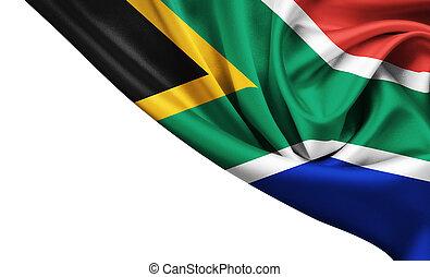 vlag, republiek, afrika, zuiden, staat