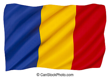 vlag, roemenië, nationale