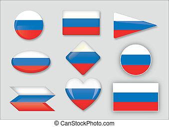 vlag, rusland