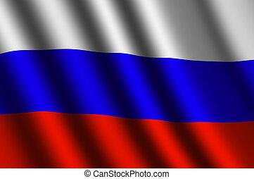 vlag, russische