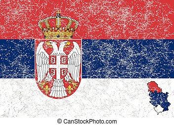 vlag, serbian